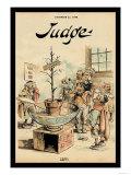 Judge Magazine: Left! Art by Grant Hamilton