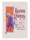The Rough Riders: An Equestrian Scene Posters