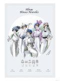 Album Blouses Nouvelles: Five Fancy Hats Posters