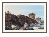 Ponte Lugano Prints by M. Dubourg