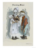 Nursing Major Premium Giclee Print by F. Frusius M.d.
