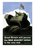 Great Britain Pursues the War with Japan Poster