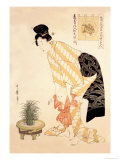 Summer Fashion Posters by Kitagawa Utamaro