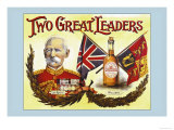 Two Great Leaders- Lord Roberts and Wilson's Prints by Arthur Smith