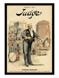 Judge Magazine: The Presidential Prestidigitateur Prints by Grant Hamilton