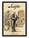 Judge Magazine: The Presidential Prestidigitateur Posters by Grant Hamilton