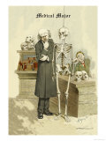 Medical Major Premium Giclee Print by F. Frusius M.d.