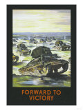 Forward to Victory Prints