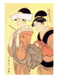 The Hour of the Monkey Prints by Utamaro Kitagawa