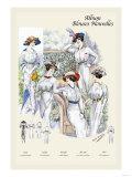 Album Blouses Nouvelles: Five Ladies of Leisure Prints