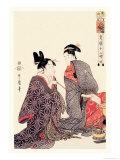 The Hour of the Tiger Prints by  Utamaro Kitagawa