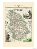 Haute-Marne Poster von Alexandre Vuillemin