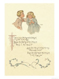 There Was a Little Boy and a Little Girl Prints by Maud Humphrey