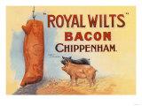 Royal Wilts Bacon Plakát