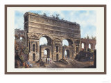 Claudian Aqueduct Posters by M. Dubourg