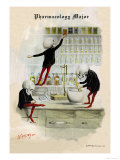 Pharmacology Major Premium Giclee Print by F. Frusius M.d.