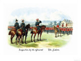 Inspection by the General: The Salute Prints by Richard Simkin