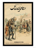 Judge Magazine: The Democratic Rip Van Winkle Prints by Victor