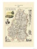 Haut-Rhin Poster by Alexandre Vuillemin