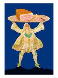 Ham Platter Prints by Paul Mohr