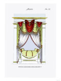 French Empire Alcove Bed No. 22 Prints