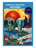 Stories of the Stars, Antares Prints by Frank R. Paul