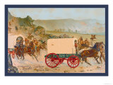 Mitchell Wagon Train Posters by Gean Smith