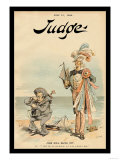 Judge Magazine: John Bull Backs Out Poster von Victor