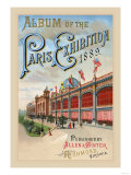 Album of the Paris Exhibition, 1889 Prints