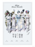 Album Blouses Nouvelles: Five Feminine Styles Prints