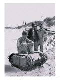 Us Navy Examines Nazi Beetle Print