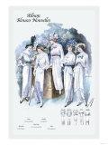 Album Blouses Nouvelles: Afternoon White Prints