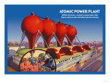 Atomic Power Plant Posters