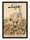 Judge Magazine: The Stars and Stripes Are Good Enough for U.S. Prints by Bernhard Gillam