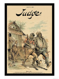 Judge Magazine: Hands Off! Print by Grant Hamilton