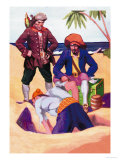 Captain Kidd Print by George Taylor