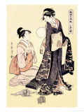 Upper Class Women Prints by Utamaro Kitagawa
