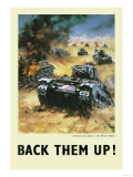 Back Them Up Posters