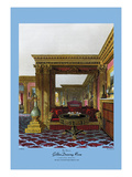 Golden Drawing Room - Carlton House Prints by C. Wild