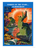 Stories of the Stars: Aldebaran Poster by Frank R. Paul