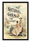 Judge Magazine: Natural Gas Posters by Grant Hamilton