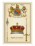 Royal Arms, Regalia of Scotland Poster by Mutlow