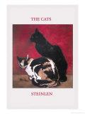 The Cats Photographie par Théophile Alexandre Steinlen