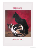 The Cats Art by Théophile Alexandre Steinlen