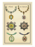 Knighthood: Thistle: St. Patrick Prints by Mutlow