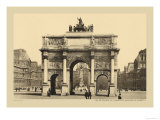 Carousal Triumphal Arch and Monument Gambetta Prints by Helio E. Ledeley