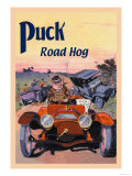 Puck, Road Hog Posters by E. Baker