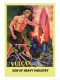 Vulcan Prints by Frank R. Paul