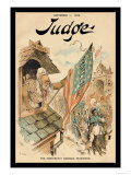 Judge Magazine: The Democratic Barbara Frietchie Posters by Grant Hamilton