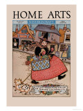 Home Arts: to Market Prints by Mary Wright Jones